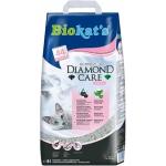 kattenbakvulling Diamond Care Fresh 8 L grijs plantaardig