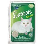 kattenbakvulling Sivoton Classic 20 kg grit beige