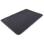 schoonloopmat kattenbak 60 cm pvc grijs